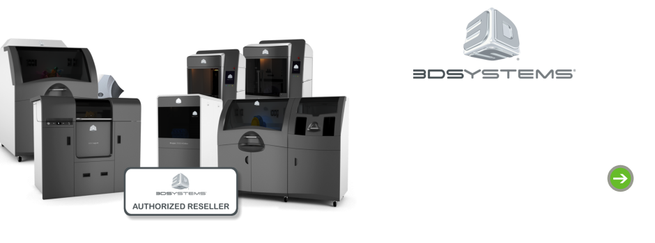 3D Systems Personal, Professional, and Production 3D Printers